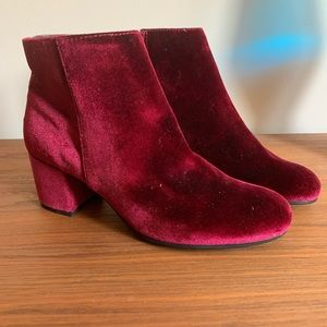 Circus by Sam Edelman Jewel Toned Booties Size 8.